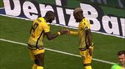 Malatya'yı rahatlatan gol Bifouma'dan