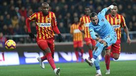 Trabzonspor ile Kayserispor 44. kez