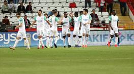 Antalyaspor - Bursaspor: 0-1 (ÖZET)