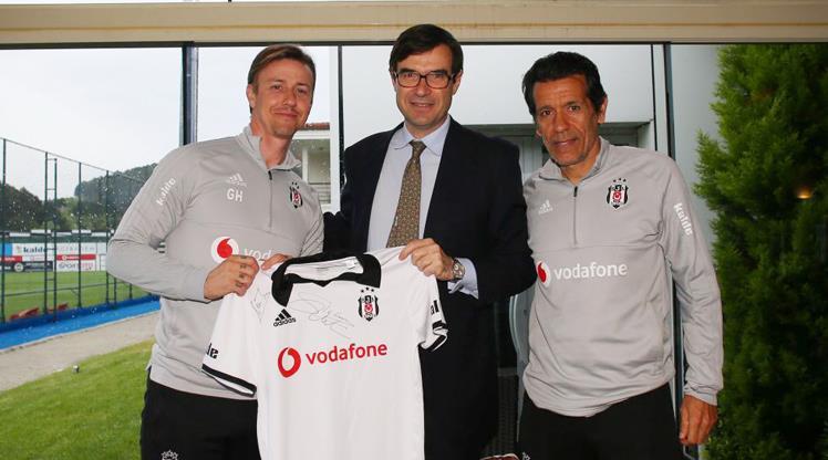 İspanyol büyükelçiden Beşiktaş'a ziyaret