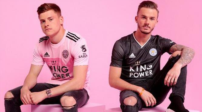 Leicester City'de yeni moda pembe