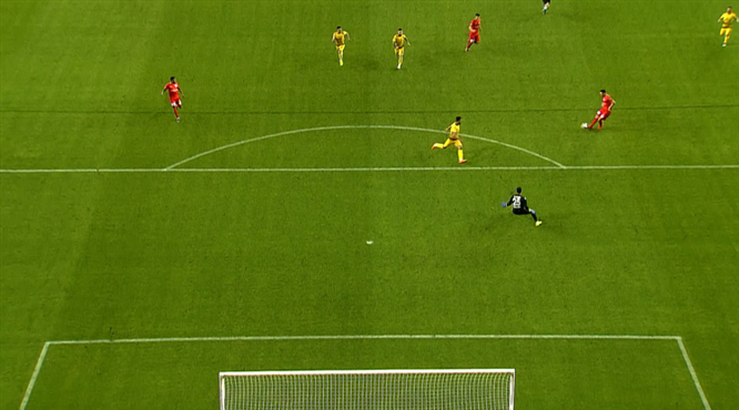 Mevlüt'ten klas gol
