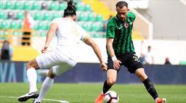 Akhisarspor - İstikbal Mobilya Kayserispor: 2-2 (ÖZET)