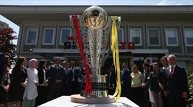 Galatasaray'ın şampiyonluk kupası yola çıktı