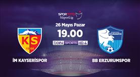İstikbal Mobilya Kayserispor - BB Erzurumspor (CANLI)