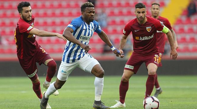 İstikbal Mobilya Kayserispor - BB Erzurumspor: 0-2 (ÖZET)