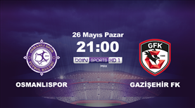 Osmanlıspor - Gazişehir