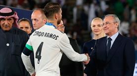 Ramos'un ayrılık isteğine Perez'den cevap