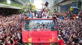 Toronto'da şampiyonluk coşkusu