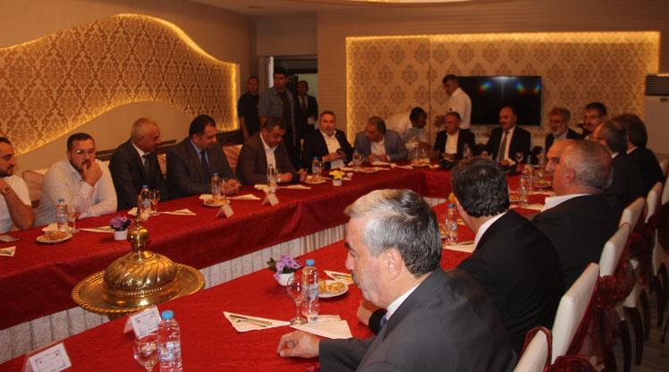 """Kayserispor'a """"destek"""" toplantısı"""