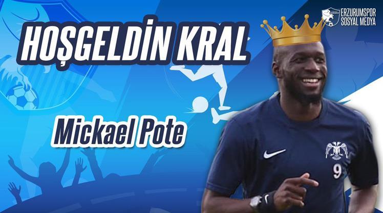 Mickael Pote, BB Erzurumspor'da