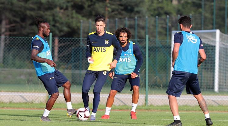 Fenerbahçe'nin yenileri sahaya indi