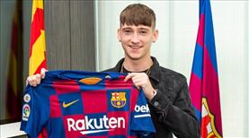 Barca'ya 16 yaşında genç yıldız
