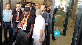 Seri Galatasaray için İstanbul'a geldi