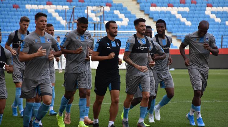 Trabzonspor maç saatini bekliyor