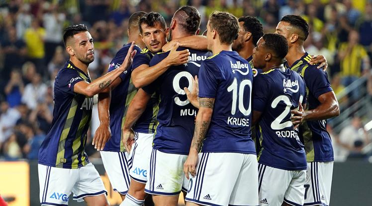 Fenerbahçe - Gazişehir: 5-0 (ÖZET)