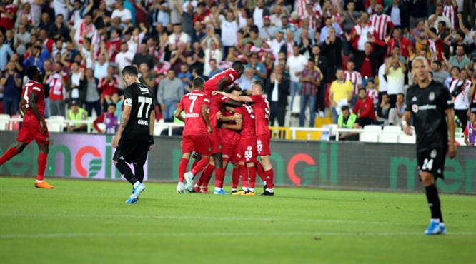 DG Sivasspor - Beşiktaş maçının öyküsü burada