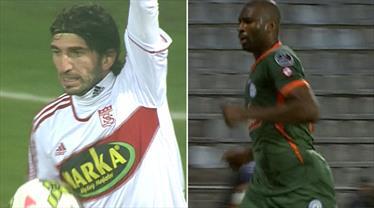 2 takım, 2 gol: Ç.Rizespor - D.G. Sivasspor