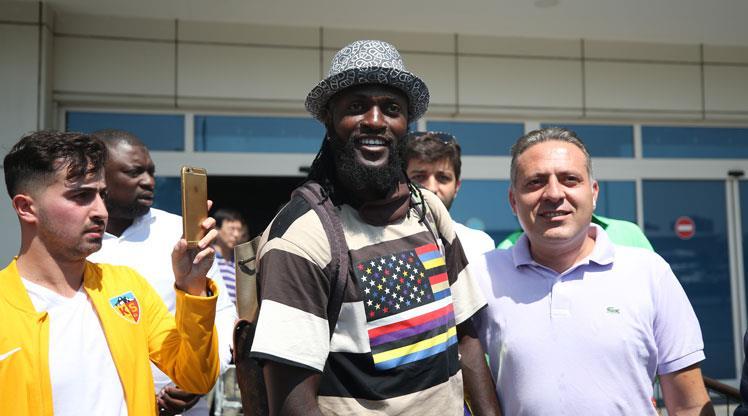 Ve Adebayor Kayseri'de