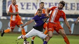 Osmanlıspor: 2 - Adanaspor: 2 (ÖZET)