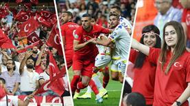 İstanbul'da milli maç hasreti bitti! Vodafone Park kırmızı beyaz