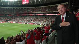 Cumhurbaşkanı Erdoğan, Milli Takımı tebrik etti