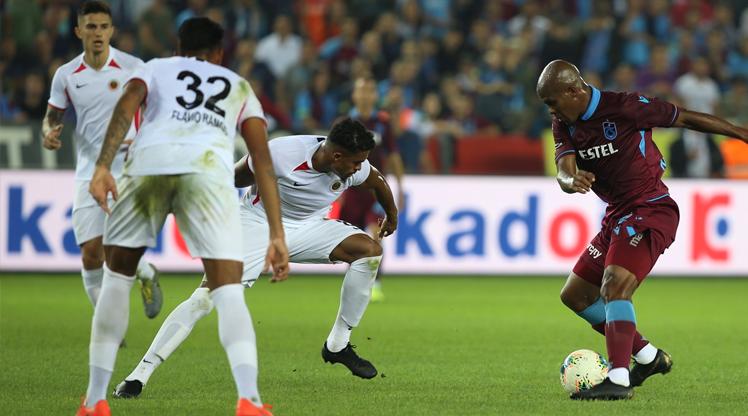 Trabzonspor - Gençlerbirliği maçının yıldızı kim?