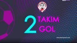 2 takım, 2 gol: A.Alanyaspor-Fenerbahçe