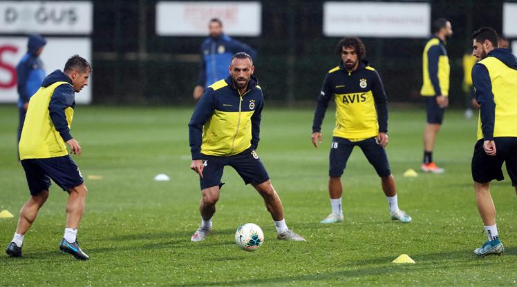 Fenerbahçe'de sakatlar takımla çalıştı