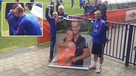 Sneijder'i gördü, dünyalar onun oldu!