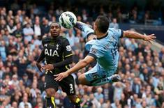Aguero Tottenham'ı bozguna uğrattı!