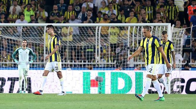 Fenerbahçe - Kayserispor: 2-3