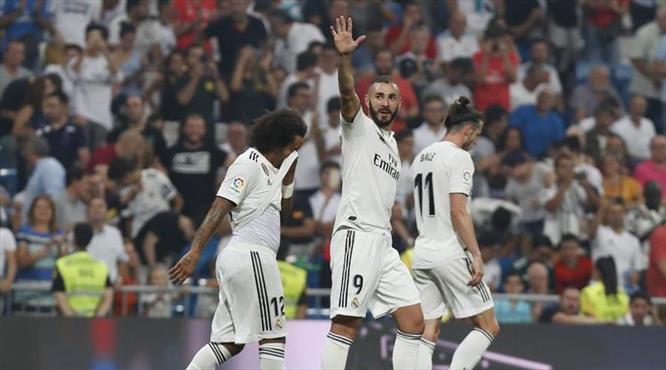 Ronaldo yoksa Benzema var
