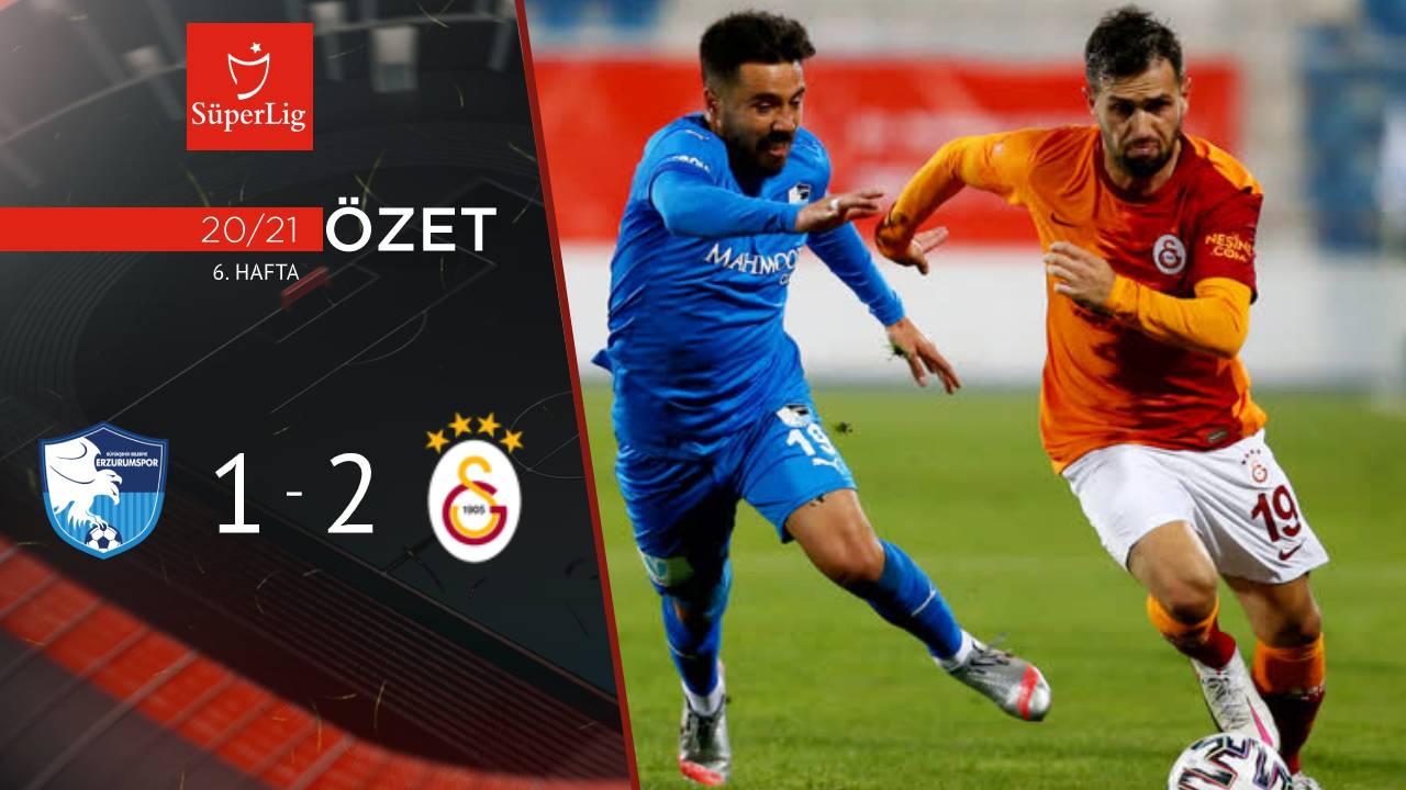 BŞB Erzurumspor Galatasaray maç özeti