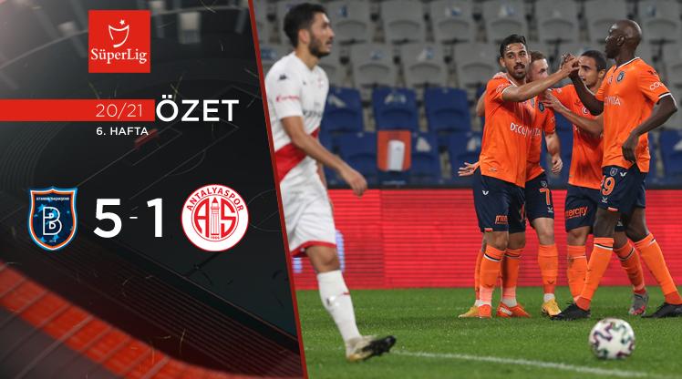 Medipol Başakşehir Fraport TAV Antalyaspor maç özeti