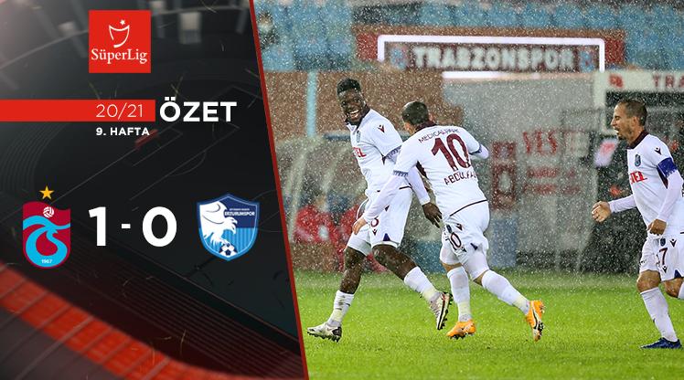 Trabzonspor BŞB Erzurumspor maç özeti