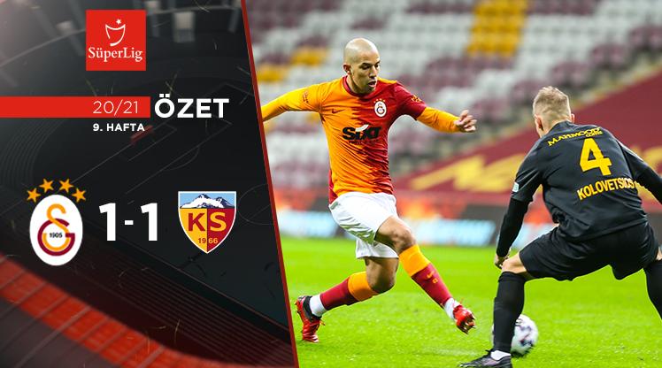 Galatasaray Hes Kablo Kayserispor maç özeti