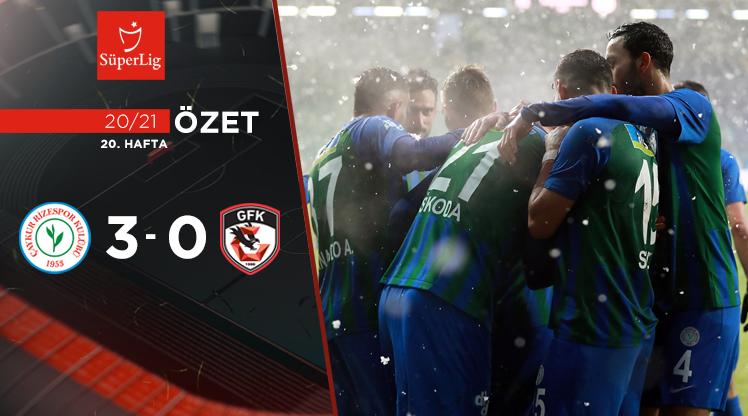 Çaykur Rizespor Gaziantep FK maç özeti