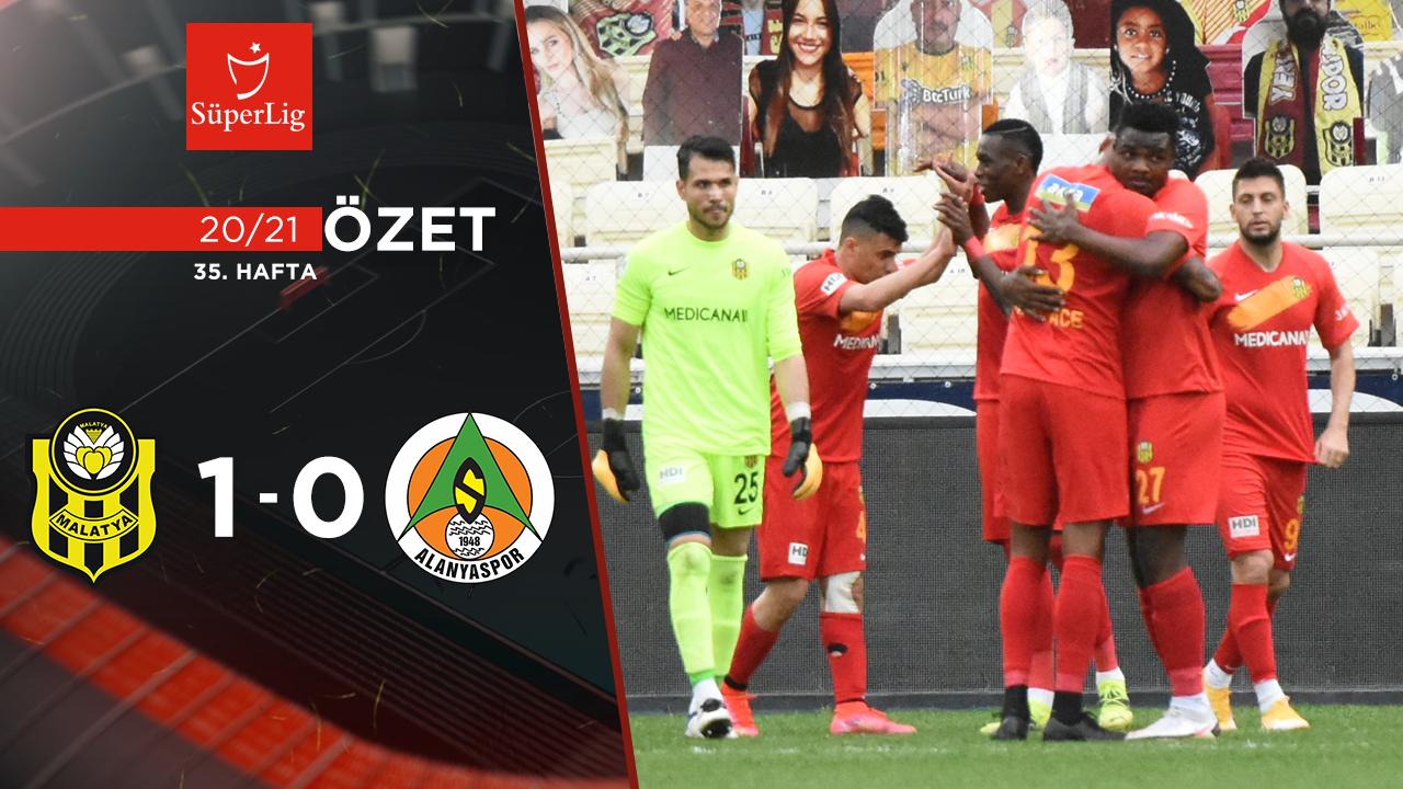 Helenex Yeni Malatyaspor Aytemiz Alanyaspor maç özeti