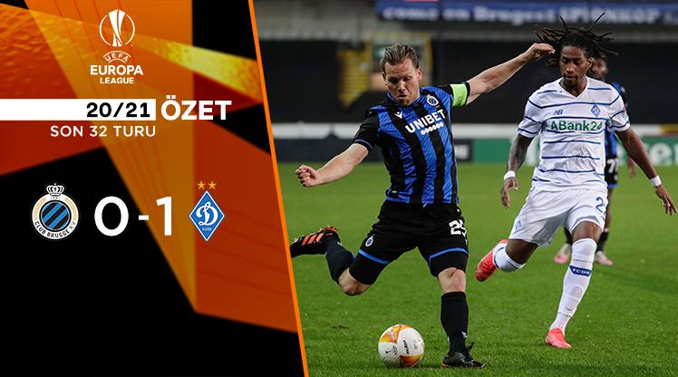 Club Brugge Dinamo Kiev maç özeti