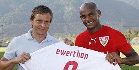 Ewerthon Stuttgart'tan ayrıldı