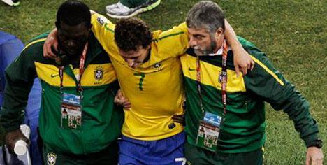 Elano Hollanda maçında yok