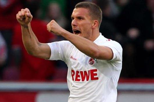 Hannover'e Podolski freni!