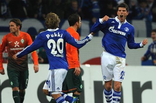 Schalke şovla bitirdi