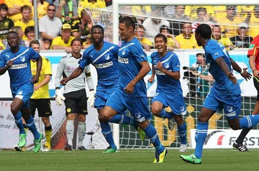 Dortmund'u belalısı çarptı