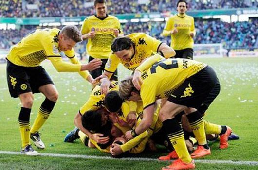 İlkay attı Dortmund kazandı!