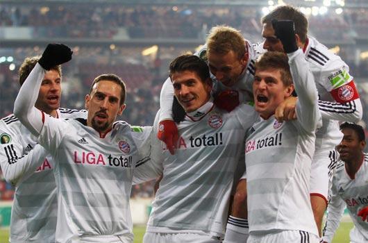 Bayern para bastı