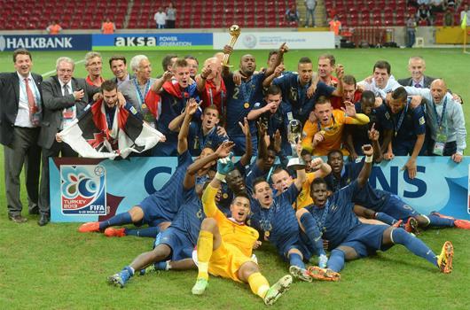 U20'de en büyük Fransa