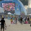 Copacabana'da Dünya Kupası keyfi (GALERİ)
