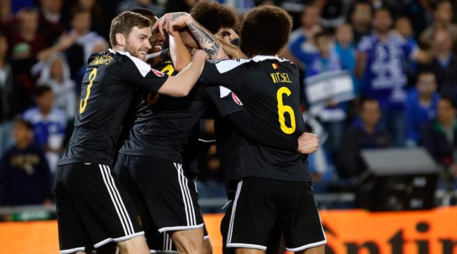 Belçika'dan altın gol!
